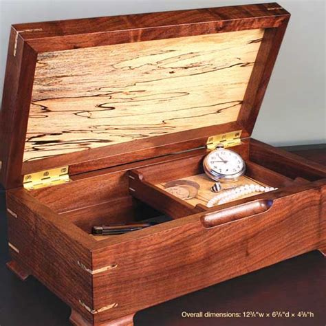 gem   jewelry box woodworking plan