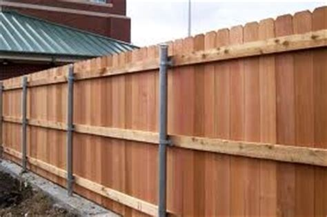 wood fences fence  metals  pinterest