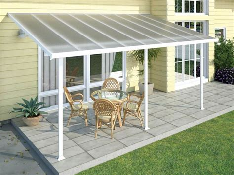 building patio cover attached house how to build sloped wood patio cover attached to house search pateeoooo