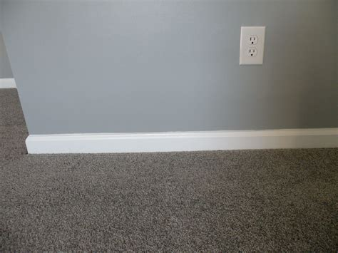 a bit bluey for the walls but great carpet color floors gray carpet white