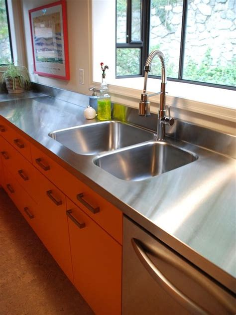 Stainless Steel Countertops Kitchen by Stainless Steel Countertops Always The Best Choice In