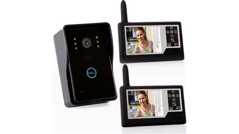 wireless front door intercom ninchishoucare