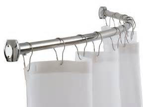 bendable shower curtain rod or tub rod best curtains