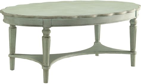 Green Coffee Table Fordon Antique Green Coffee Table From Acme Coleman Furniture
