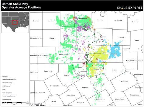 barnett shale map barnett shale news companies drilling rigs acreage