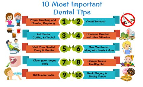 10 Tips To The With Someone New by 10 Most Important Dental Tips Dental Care Tips