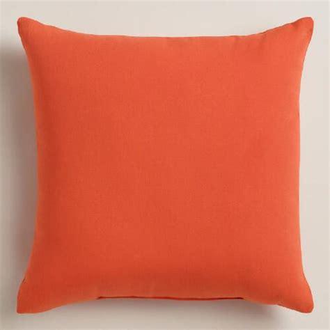 orange outdoor throw pillows world market