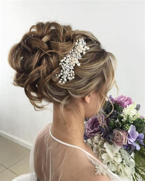 upstyle hairstyles 50 charming wedding hairstyles for long hair