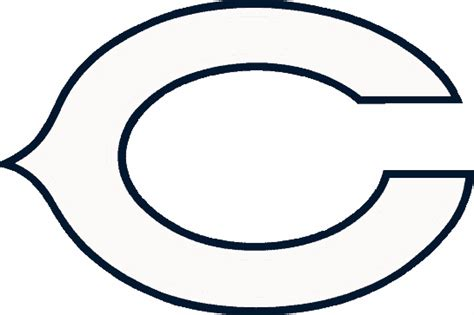 nfl bears coloring pages bears logo cliparts co