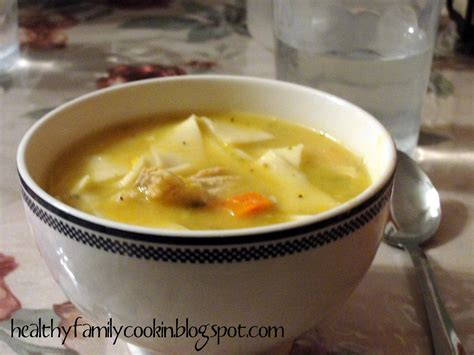 healthy family cookin chicken noodle soup electric pressure cooker recipe