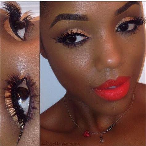 eyeshadow tutorial black girl makeup for black women pink lady pinterest