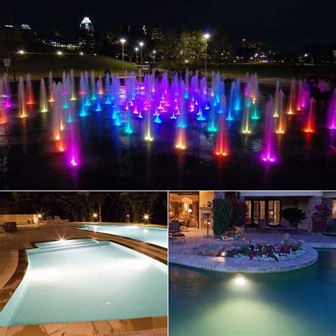 ac  rgb led bulb lamp  waterproof led light  pond