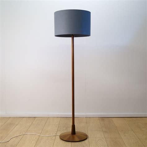1960s teak standard lamp mark parrish mid century modern