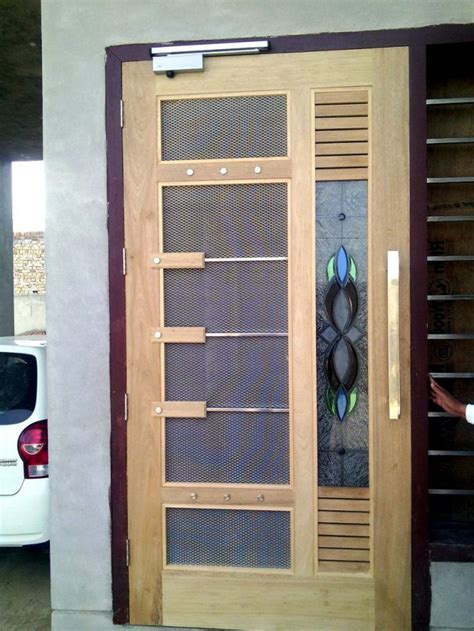 net door design mosquito door design wood working idea