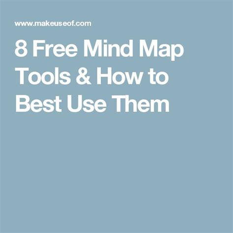 best free mind mapping tools 25 best free mind mapping tools ideas on