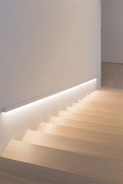 wandbeleuchtung treppe scala interna led stairs treppe