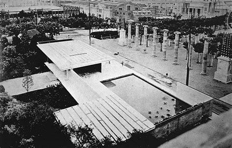pabellon de alemania el blog de r arquitectura by rodrigo almonacid c