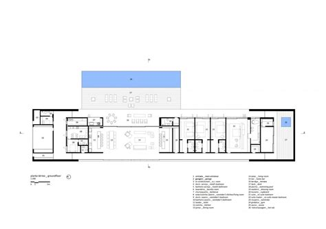 concrete floor plans marcio kogan s casa concrete house plans