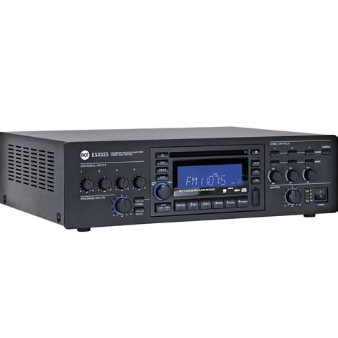 Mixer Es rcf es 3323 3 zone receiver mixer lifier es3323 b h
