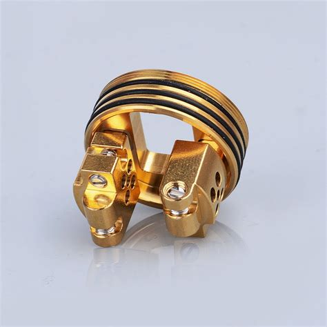 Oumier Vls Rda Atomizer Rokok Elektrik Authentic authentic oumier vls bf rda 24mm gold rebuildable atomizer