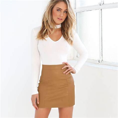 Set Sleeve Top sleeve top with choker bodycon skirt 2pcs set