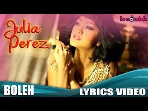 mp gratis imeymey julia perez boleh official lyric video