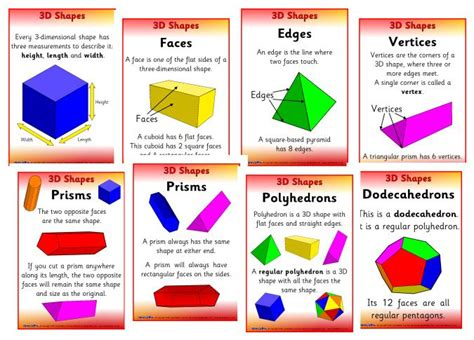 printable 3d shapes poster 6 best images of printable 3d shapes poster 3d shapes