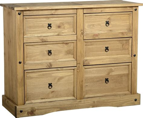 Chest Of Drawers by Chest Of Drawers Pine Corona Bedroom Furniture Solid Wood Bedside Tables Ebay
