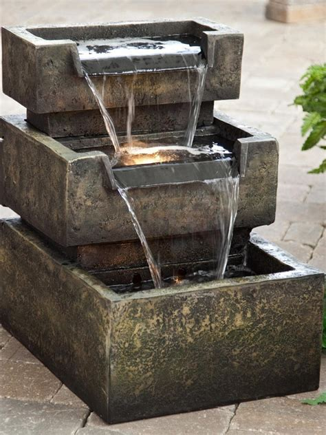 Deck Fountains by 15 Gorgeous Patio Ideas Hgtv S Decorating