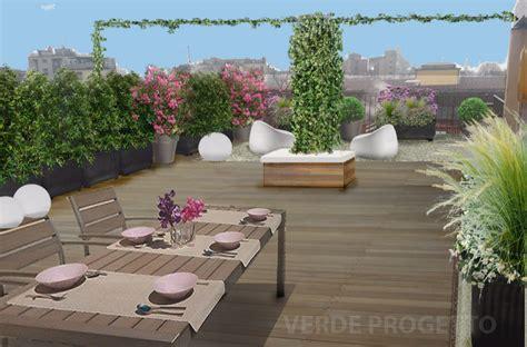 progettazione terrazzo verde progetto il terrazzo sui cieli di