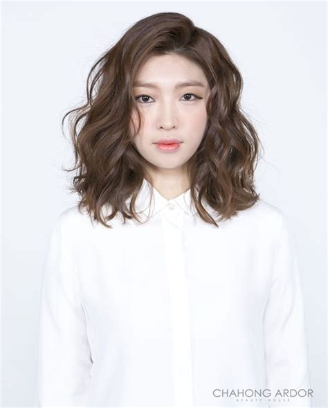 can asian hair be permed asian women perm hair styles 1 차홍아르더 pinteres