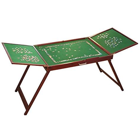 jigsaw puzzles tables wooden fold and go jigsaw table collapsible portable