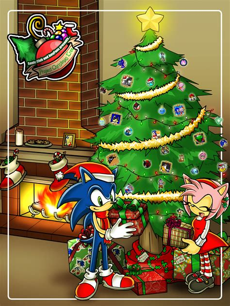 sonic christmas images christmas tree almost done hd