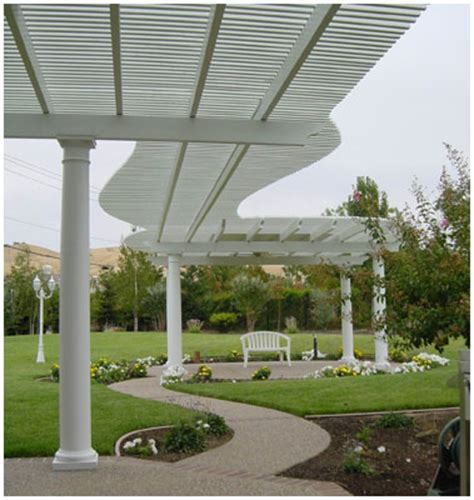 backyard lattice structures belaire engineering architectural awnings company products residential lattice