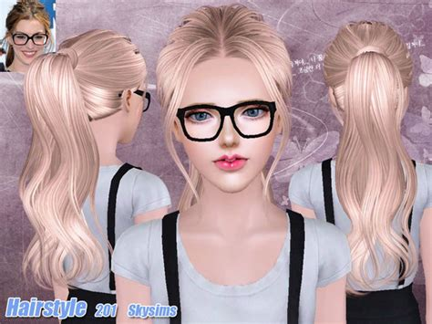 sims 3 hair custom content custom hair for sims 3 hairstyle gallery