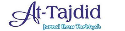 Jurnal Tarbiyah at tajdid jurnal ilmu tarbiyah