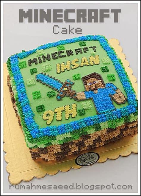 How To Decorate A Minecraft Cake by Minecraft Cake Pesanan Mbak Rohmah Cake Decorating Idea