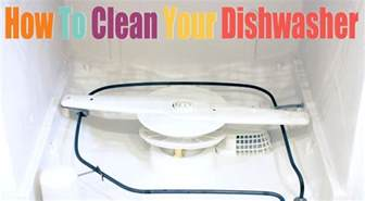 How To Clean Your Dishwasher Sparkly How To Clean Your Dishwasher
