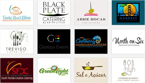 zillion free logo design catering company logos sles www pixshark com images
