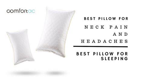 Best Pillows For Neck And Headaches best tempurpedic pillow for neck roselawnlutheran