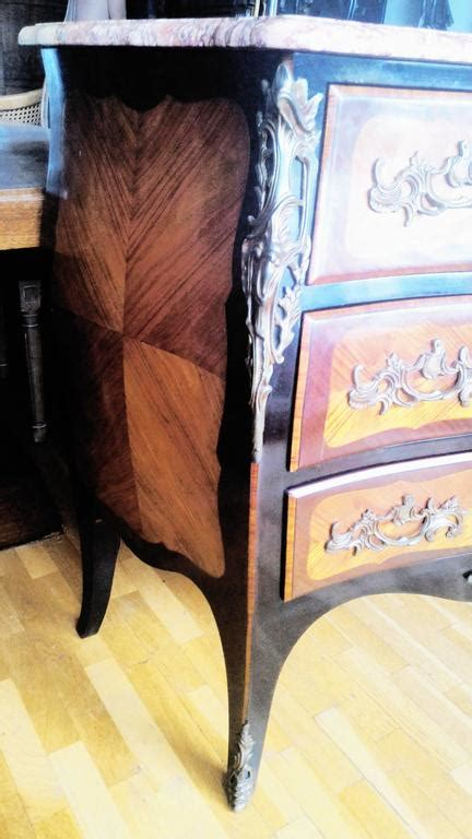 Bedroom L Pairs by Louis Xv Marquetry Commode And Pair Of Bed Side Tables