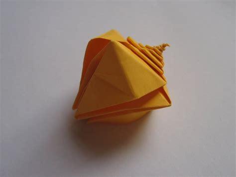 Origami Snail - spiral snail shell toshikazu kawasaki happy folding