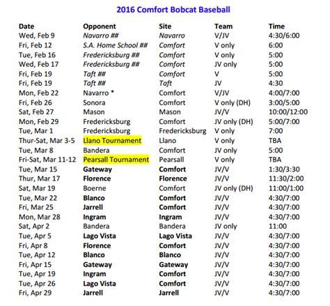 comfort tx high school 25 3a texas highschool baseball