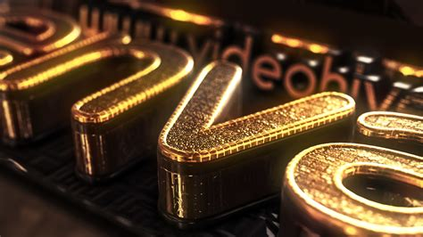 after effects 3d templates gold treasure logo 3d object after effects templates