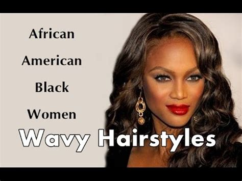 different unique african american hairstyles glamy hair african american black women wavy hairstyles hair ideas