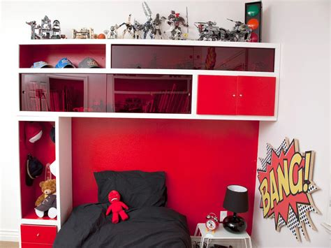 Headboards For Boys by Storage Headboard For A Kid S Room Hgtv