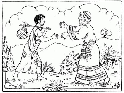 prodigal son coloring pages preschool prodigal son coloring pages preschool coloring home