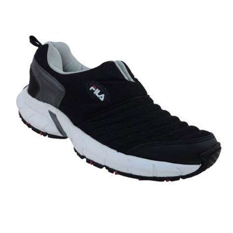 fila sports shoes buy fila synthetic sports shoes black at best