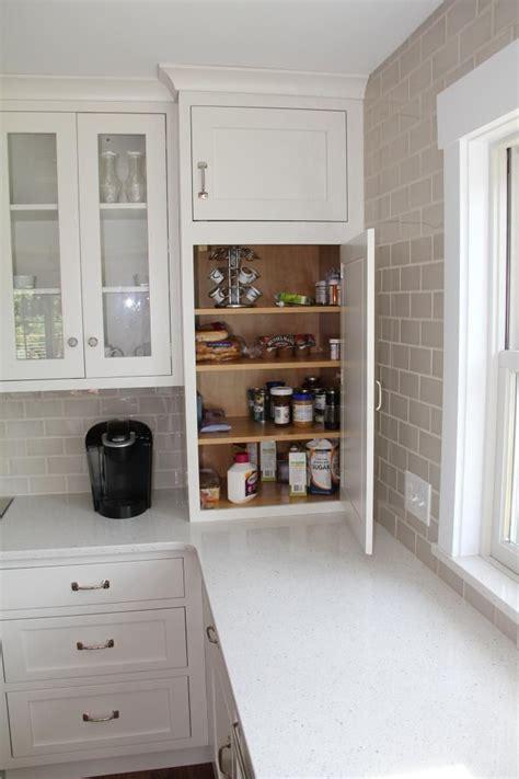 Gray Caesarstone Kitchen by Backsplash Sonoma Tilemakers Tribeca Bossy Gray