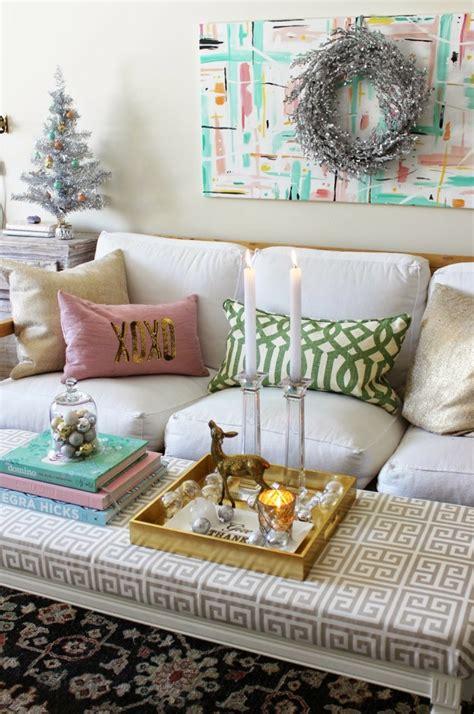decorar salon en navidad decoracion de navidad ideas para decorar casas peque 241 as